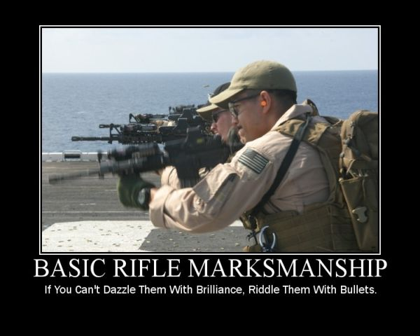 Basic Rifle Marksmanship Military Humor