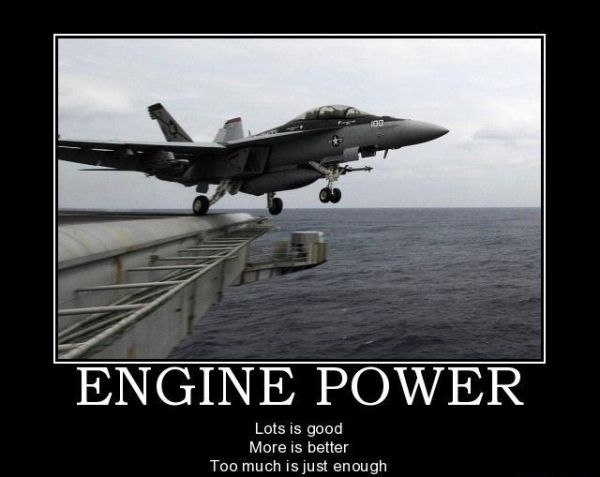 engine power military humor