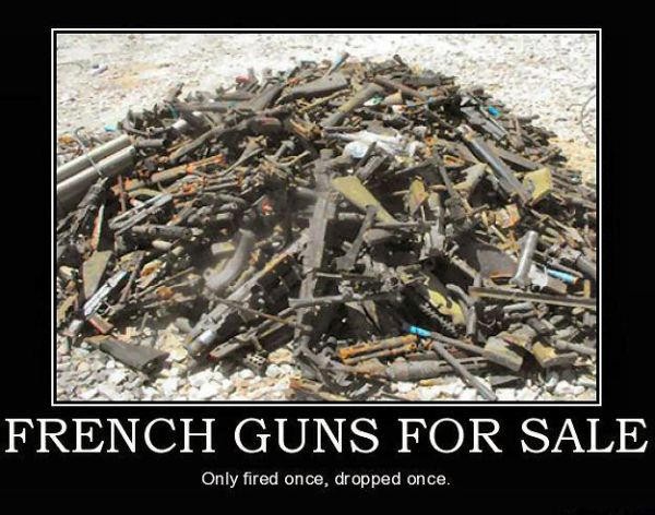 French Guns For Sale Military Humor