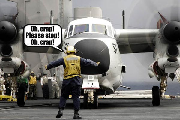 Oh, Crap! Please Stop! Oh, Crap!
