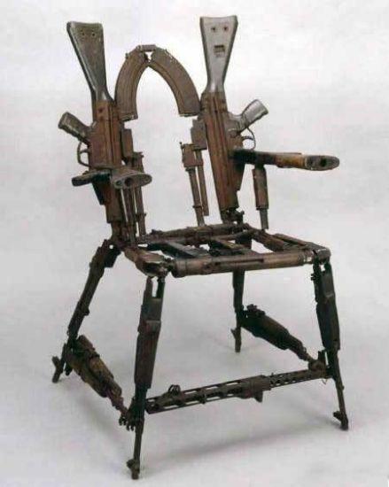 Arms Chair - Military humor
