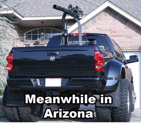 Meanwhile In Arizona Military Humor