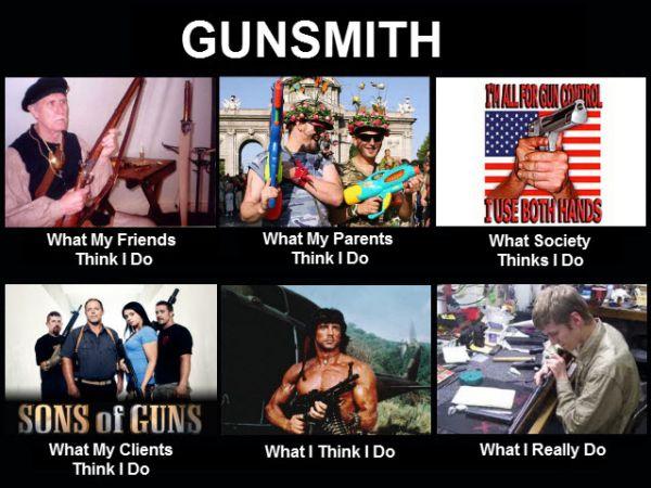 Image result for gunsmith meme