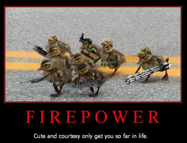 Firepower - Military humor