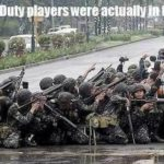 If Call Of Duty Players Were In The Army