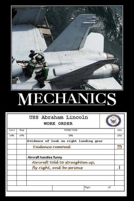 military humor funny aircraft mechanics mechanics military humor,Airplane Mechanic Funny Memes