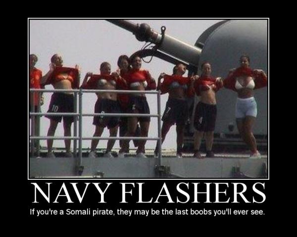 Navy Flashers - Military humor