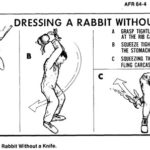 USAF Survival Manual – Dressing a Rabbit Without a Knife