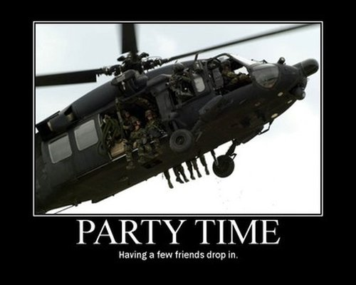 Party Time - Military humor
