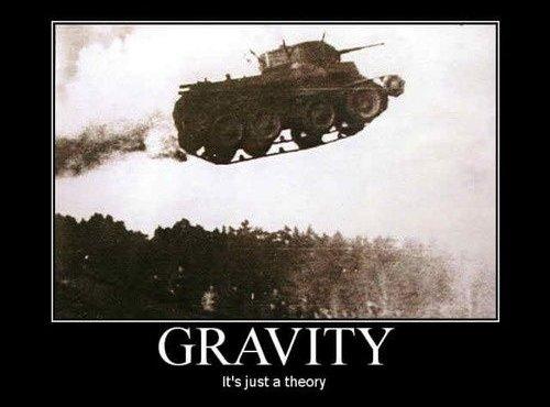 Gravity - Military humor