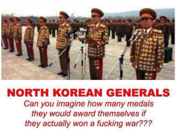 North Korean Generals - Military humor