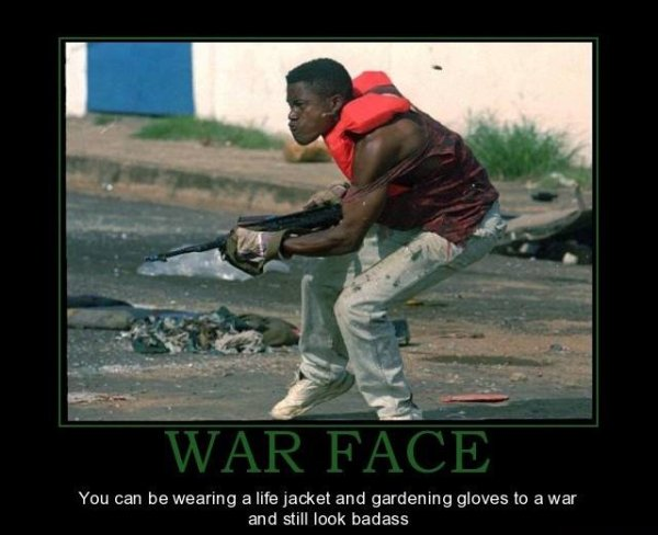 War Face - Military-humor