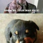 Show me your war face