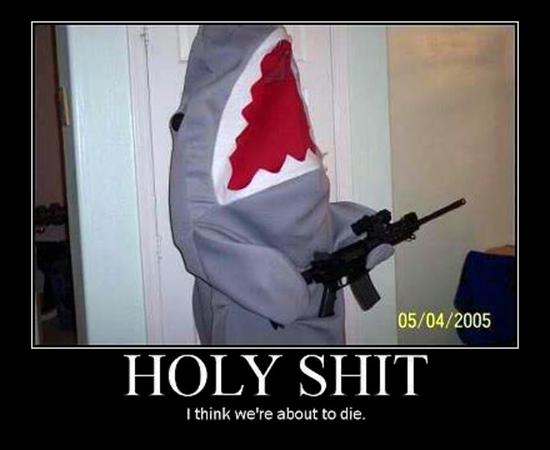 Battle Shark - Military humor
