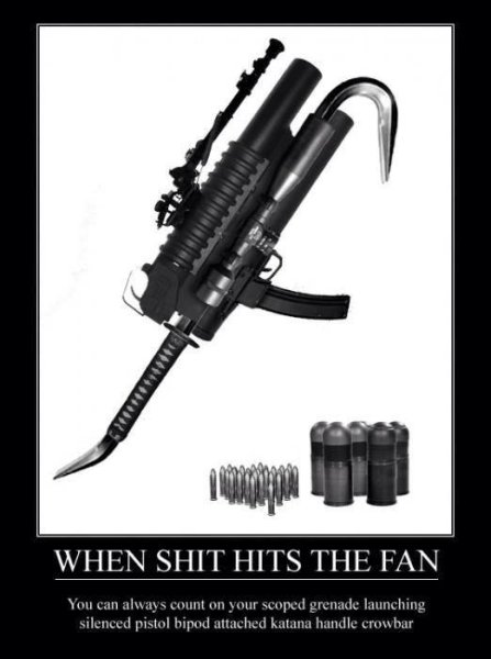 Ultimate Weapon - Military humor