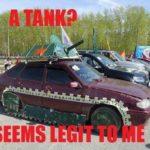 A Tank?