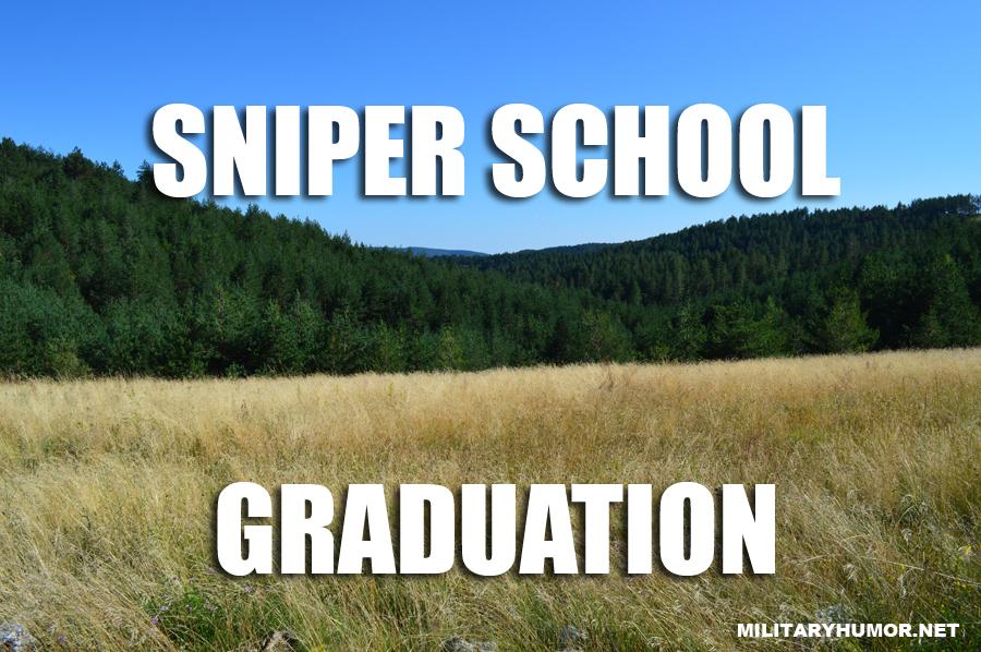 Sniper School - Military humor