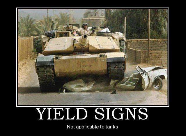 Yield Sings - Military Humor
