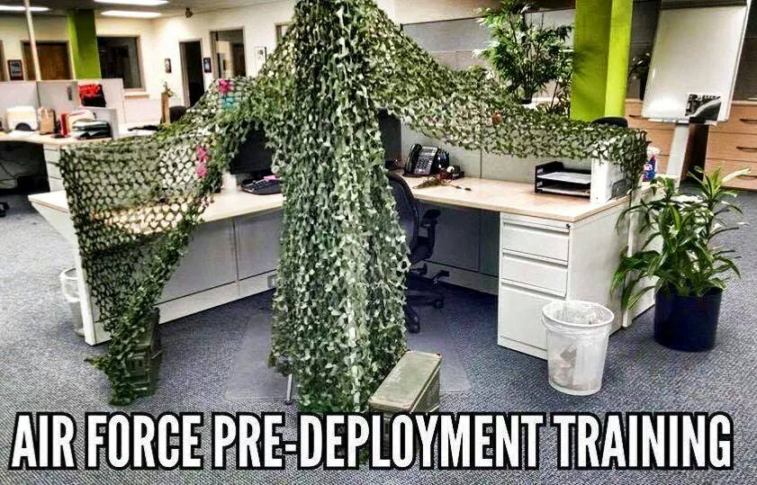 Air Force Pre-Deployment Training - Military humor