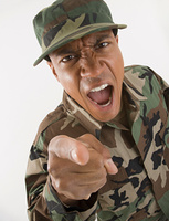 Angry - Military humor