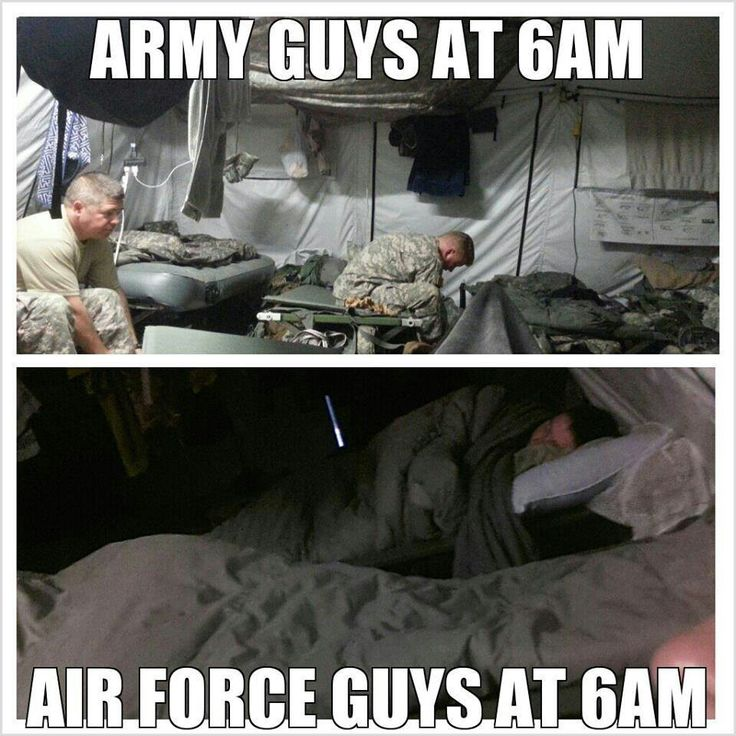 Meanwhile At 6AM - Military humor