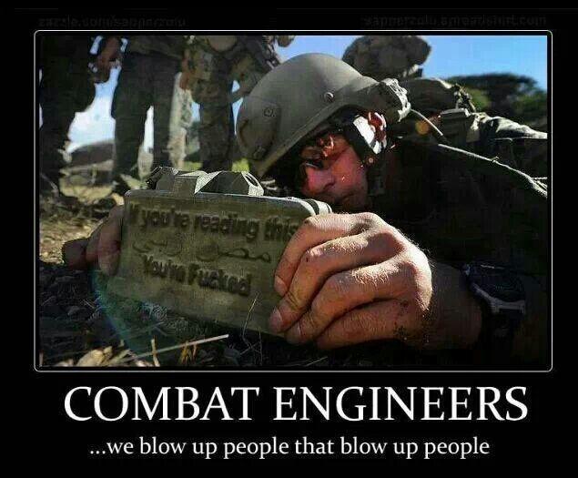 Combat Engineers - Military humor