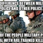 The Difference Between Military Police And Other Police