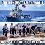 Join The Navy To See The World