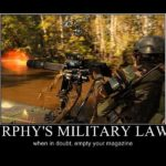 Murphy's Military Law #8