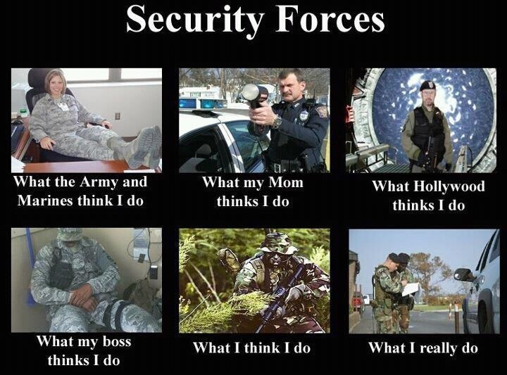 Security Forces - Military humor