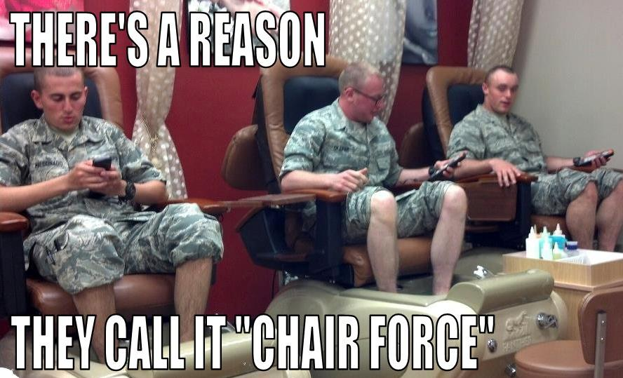 There's a Reason - Military humor