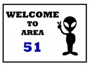 Welcome to Area 51 - Military humor