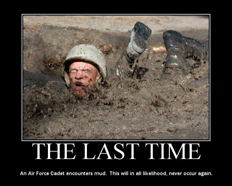The Last Time - Military humor