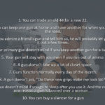 10 Reasons Why Men Prefer Guns to Women