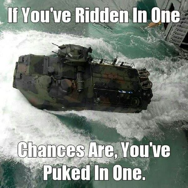 If You've Ridden In One - Military humor