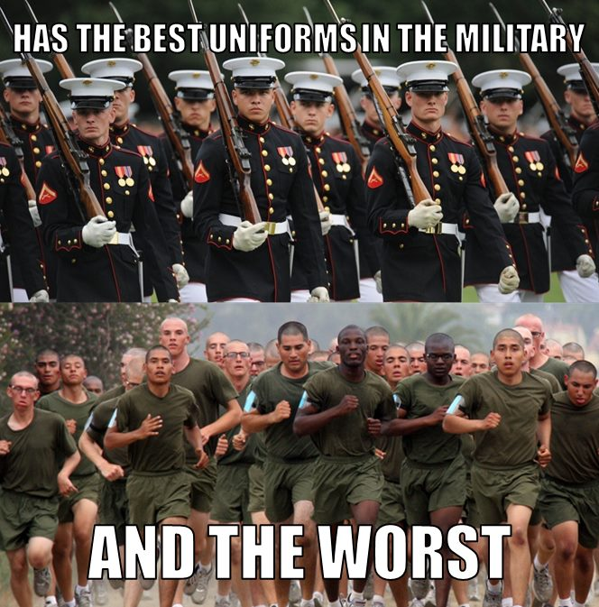 Marine Uniform Vs Army Uniform | Autos Post