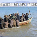 North Korea Navy Launch