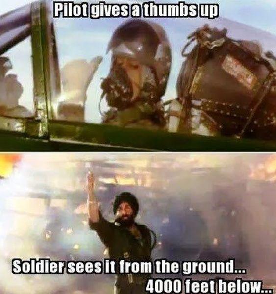 Bollywood Logic - Military humor