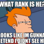 What Rank Is He?