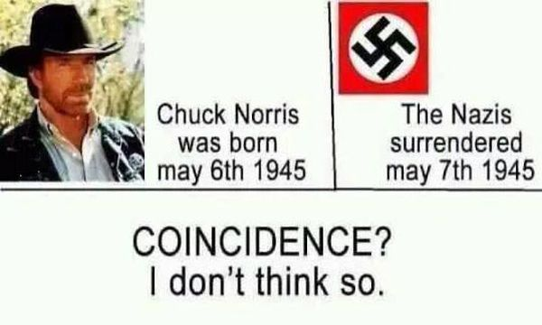 Coincidence? - Military humor