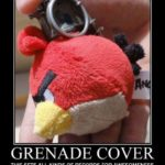 Awesome Hand Grenade Cover