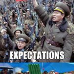 North Korean Army Going To War