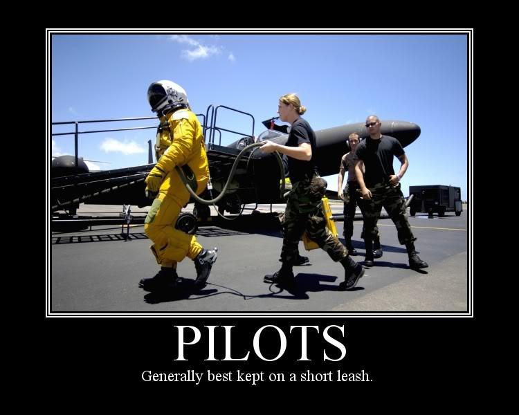 military humor pilots best kept on short leash pilots military humor