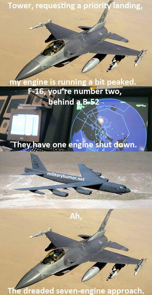 Priority Landing - Military humor