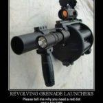 Revolving Grenade Launcher