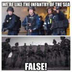 We're Like The Infantry Of The Sea