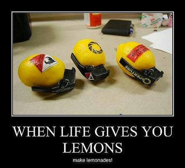 When Life Gives You Lemons - Military humor