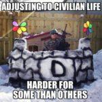 Adjusting To Civilian Life