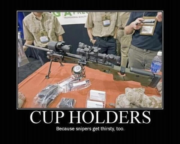 Latest Sniper Modification - Military humor
