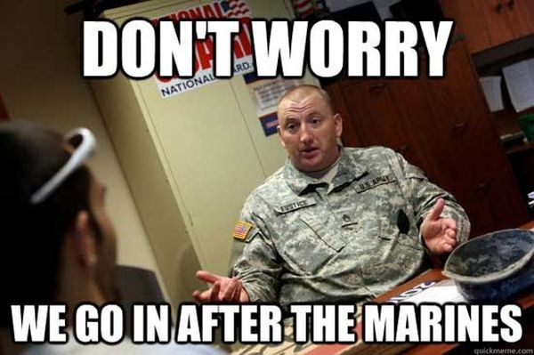 Don't Worry - Military humor
